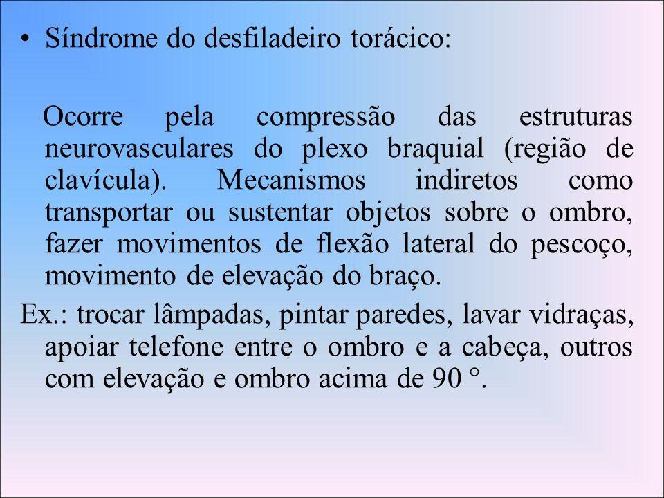 Síndrome do desfiladeiro torácico: