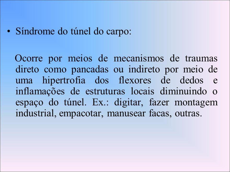 Síndrome do túnel do carpo: