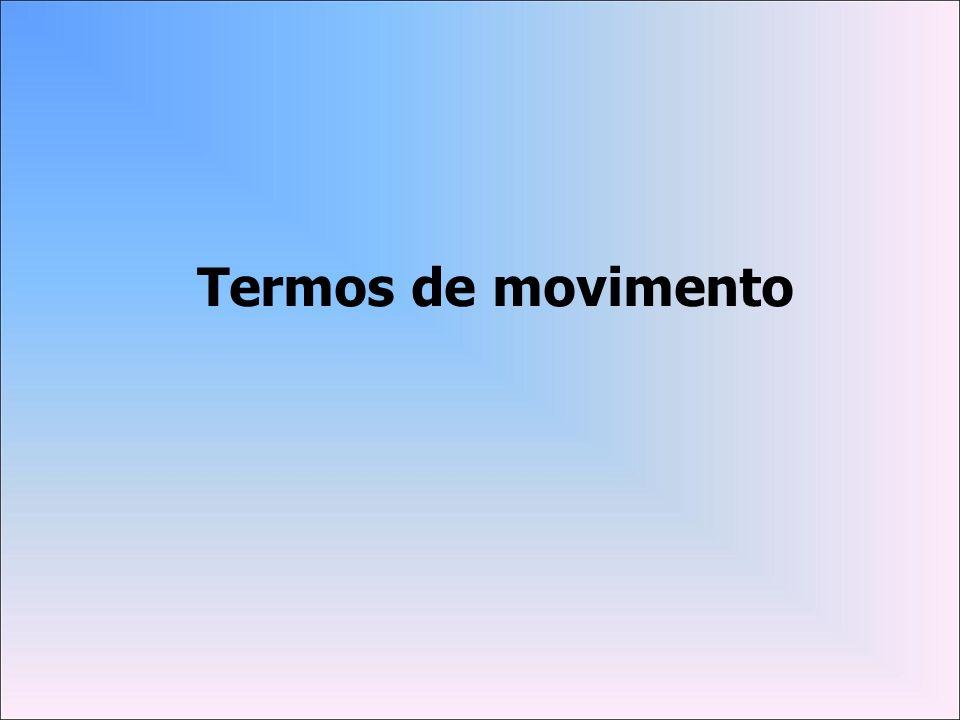 Termos de movimento
