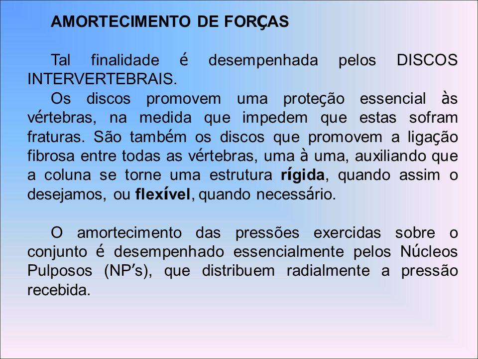AMORTECIMENTO DE FORÇAS