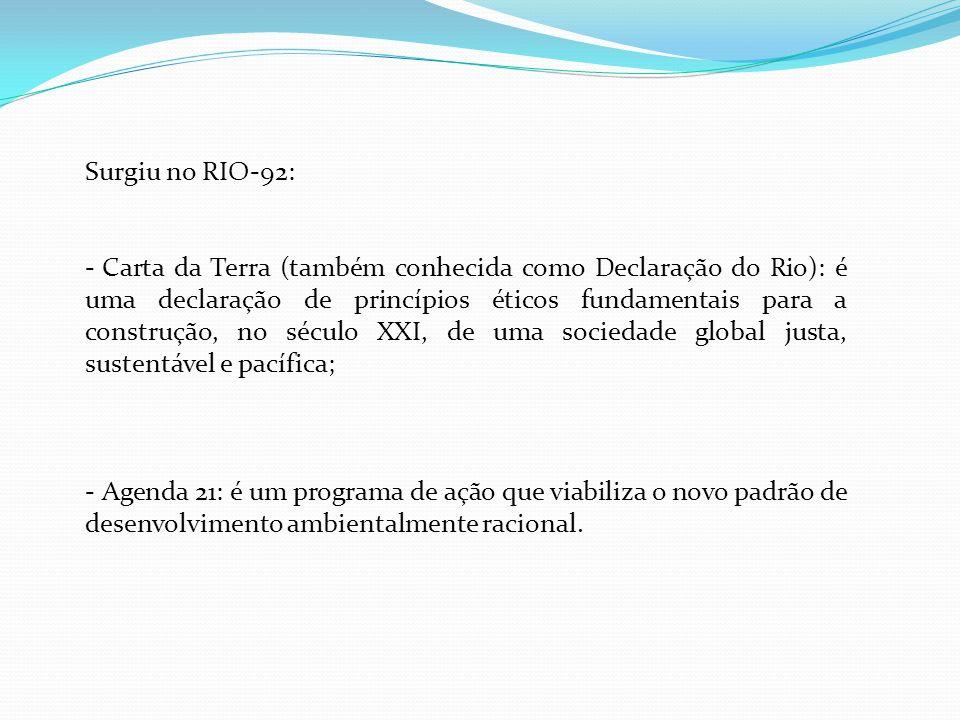 Surgiu no RIO-92: