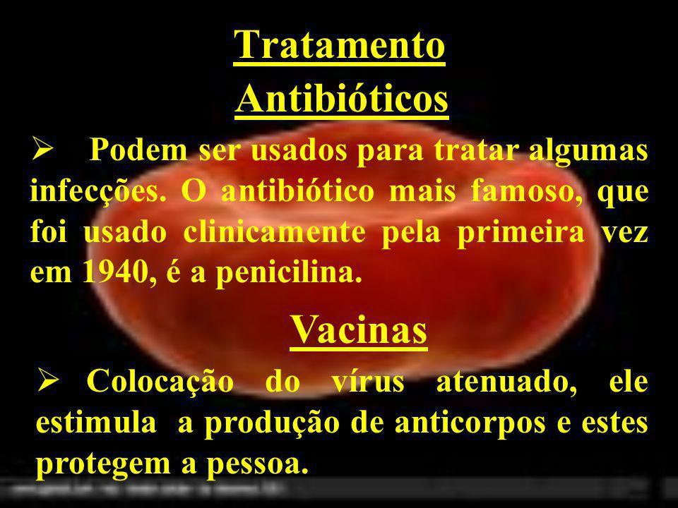 Tratamento Antibióticos Vacinas