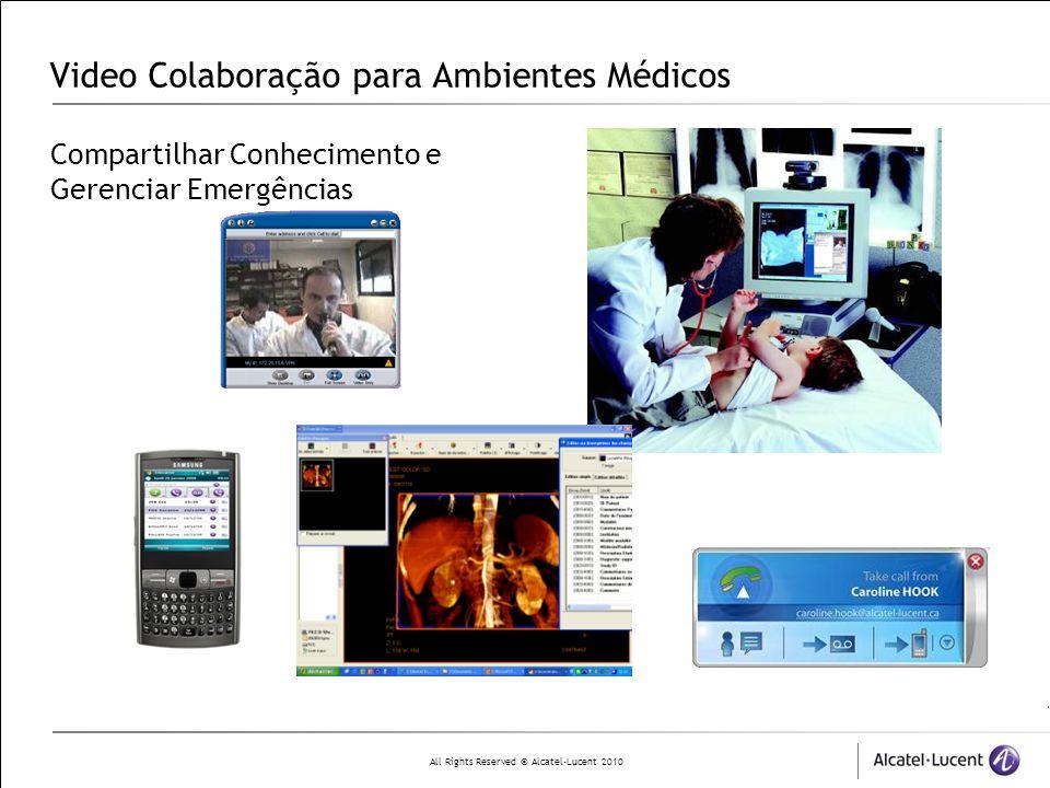 Video Colaboração para Ambientes Médicos