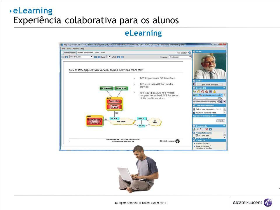 eLearning Experiência colaborativa para os alunos