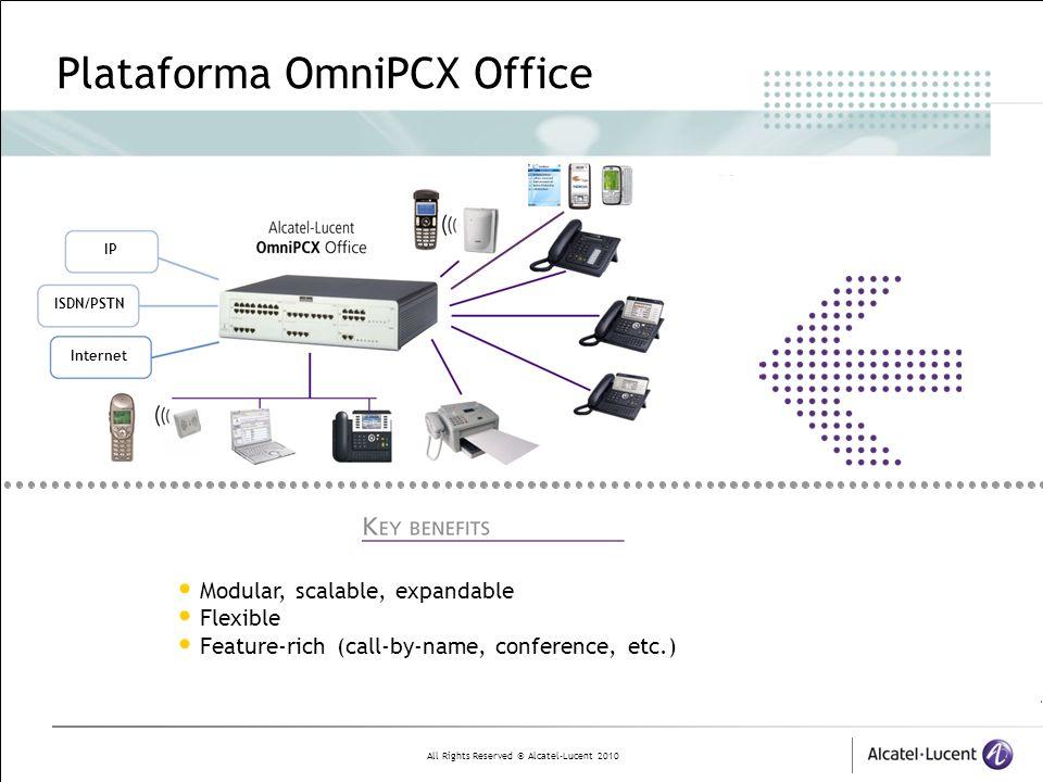 Plataforma OmniPCX Office