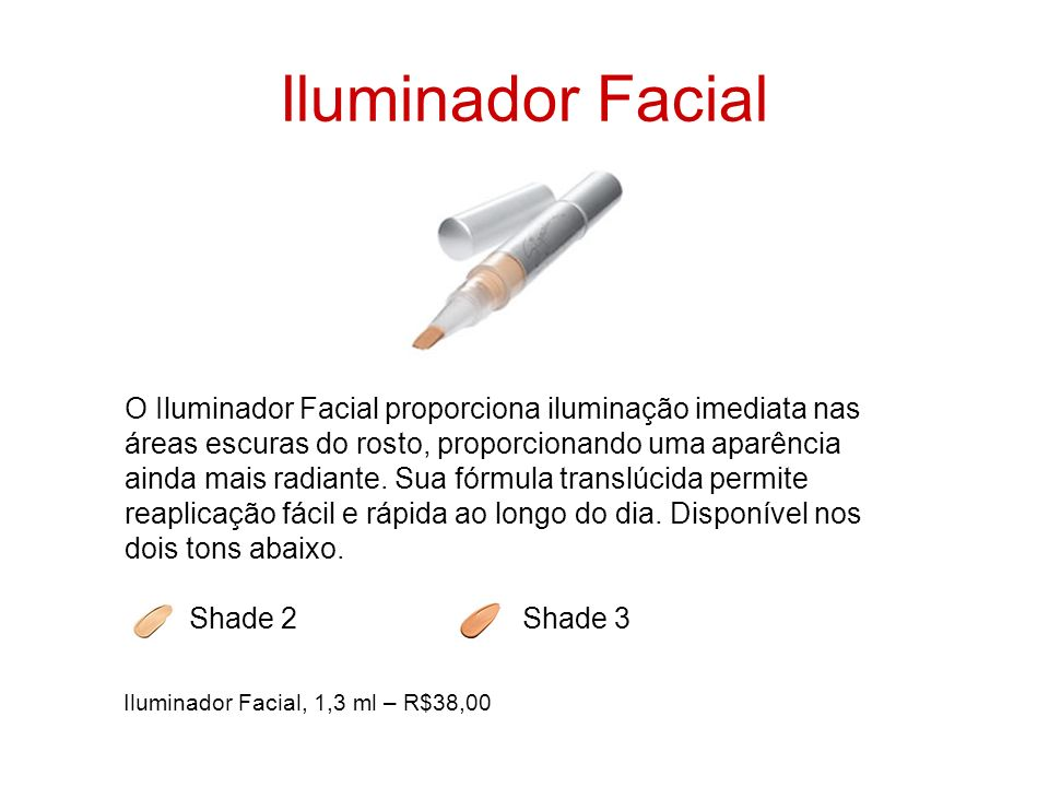 Iluminador Facial