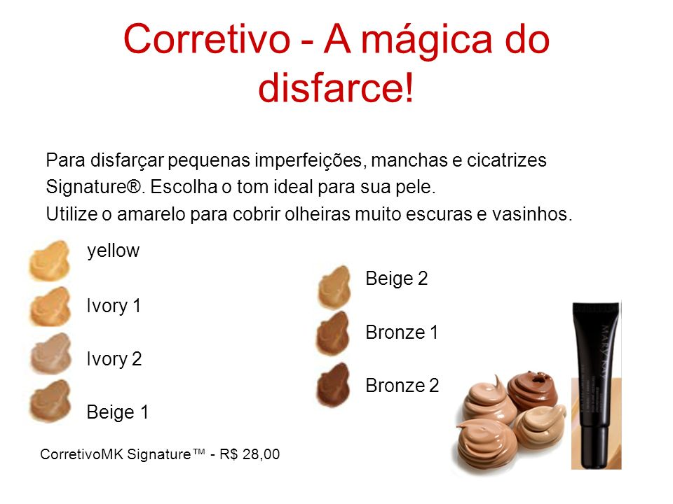 Corretivo - A mágica do disfarce!