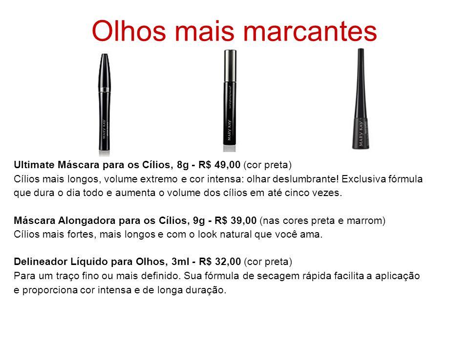 Olhos mais marcantesUltimate Máscara para os Cílios, 8g - R$ 49,00 (cor preta)