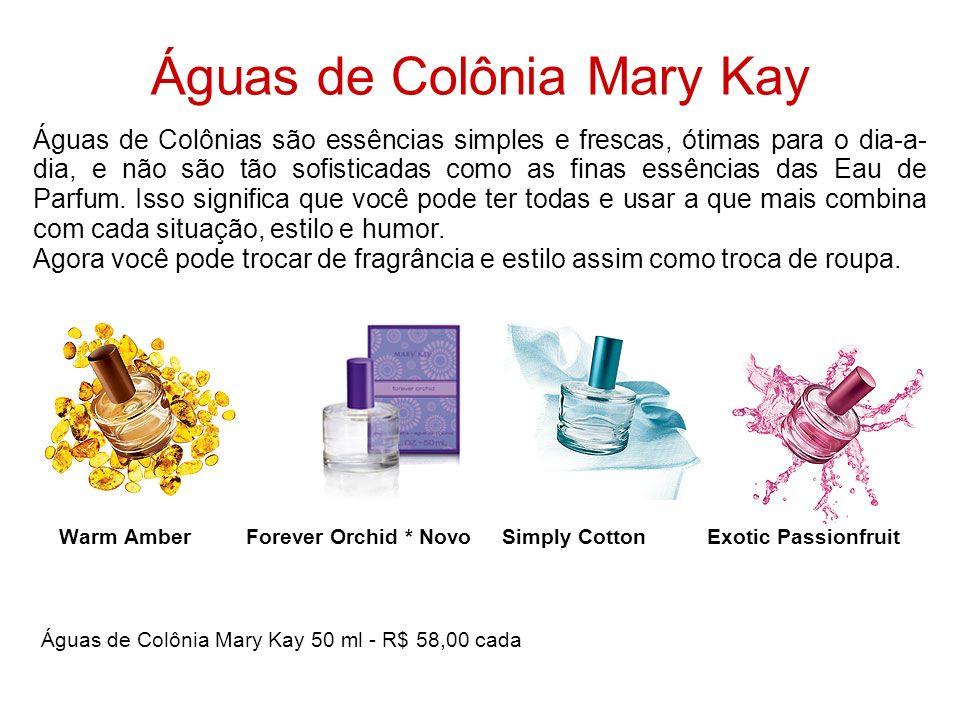 Águas de Colônia Mary Kay