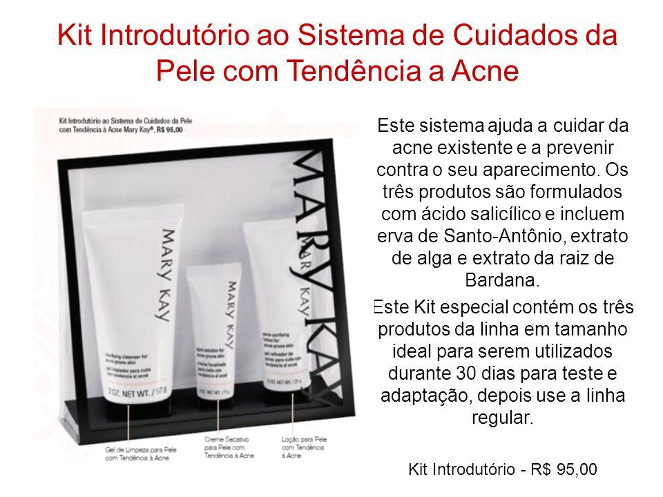 Kit Introdutório ao Sistema de Cuidados da Pele com Tendência a Acne