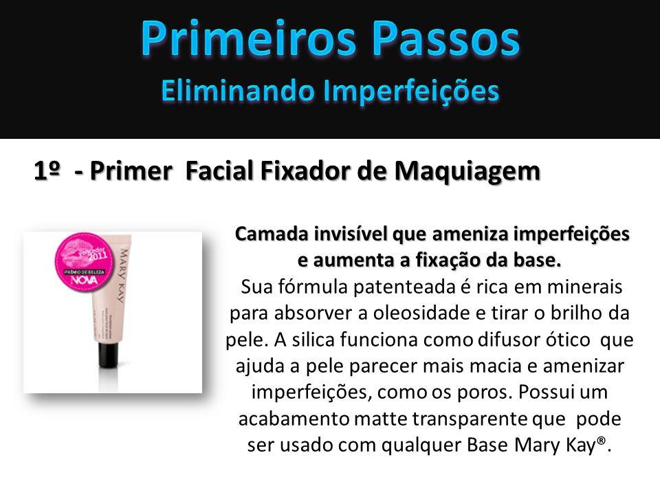 Eliminando Imperfeições 1º - Primer Facial Fixador de Maquiagem