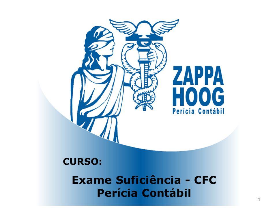 Exame Suficiência - CFC Perícia Contábil