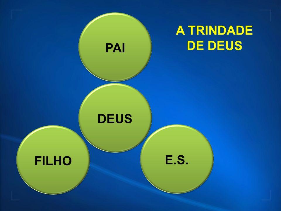 PAI A TRINDADE DE DEUS DEUS FILHO E.S.