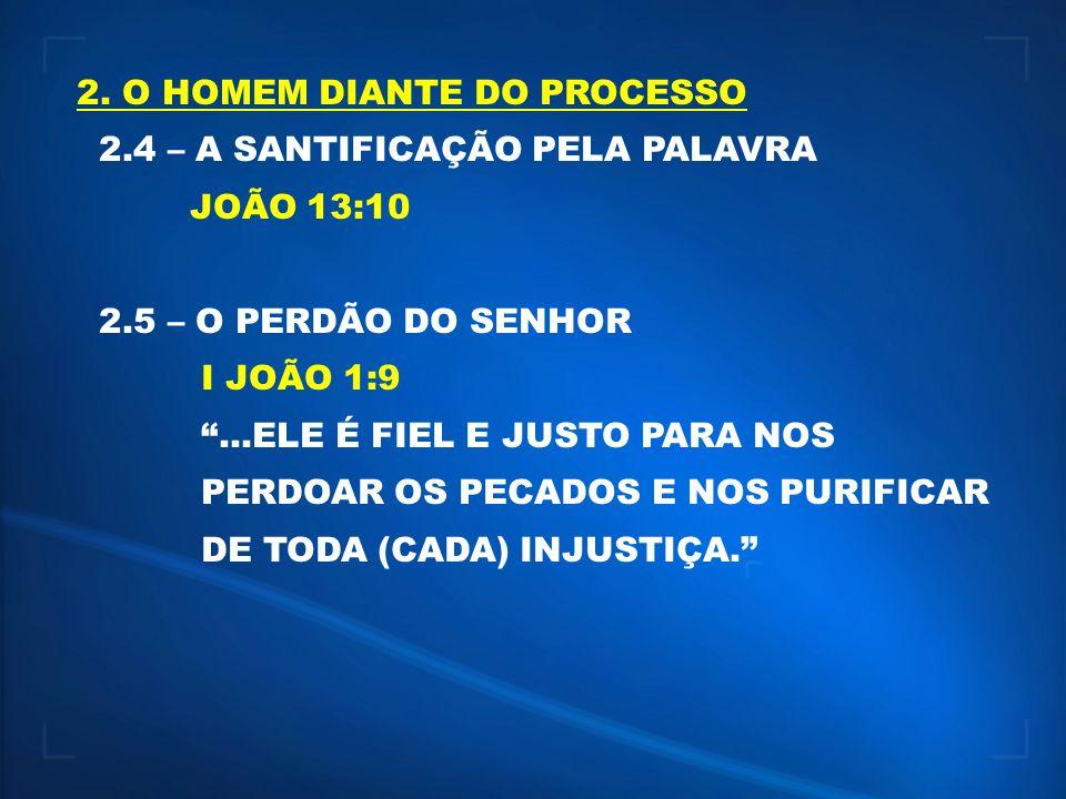 2. O HOMEM DIANTE DO PROCESSO
