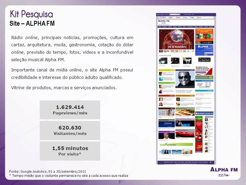 Site – ALPHA FM