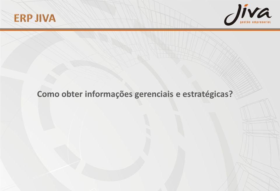 ERP JIVA Como obter informações gerenciais e estratégicas