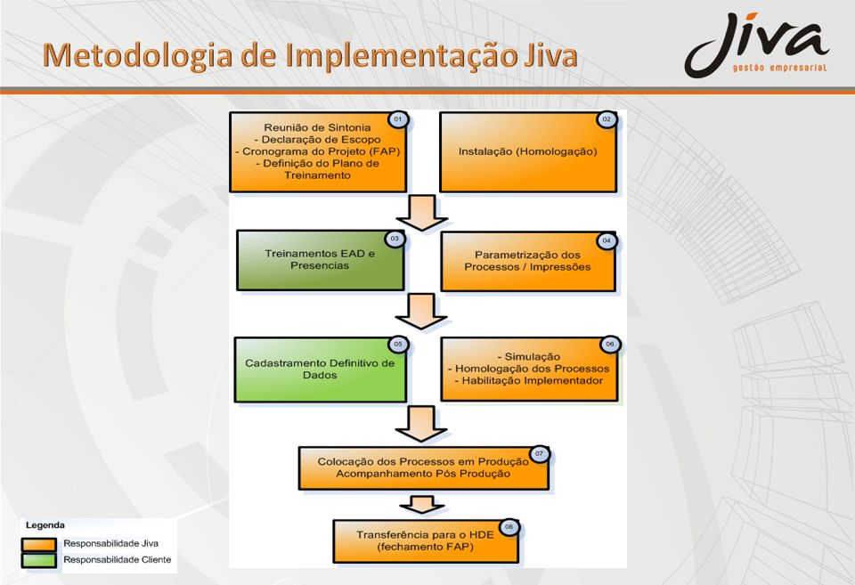 Metodologia de Implementação Jiva