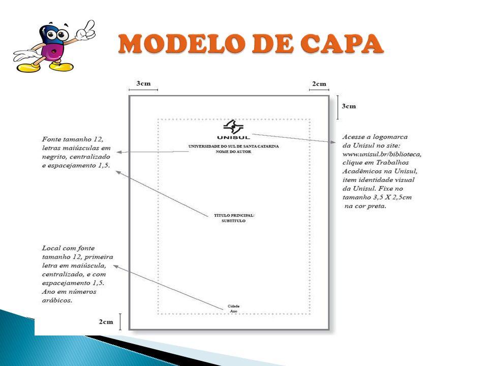 MODELO DE CAPA