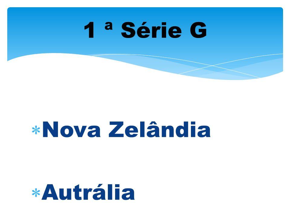 1 ª Série G Nova Zelândia Autrália