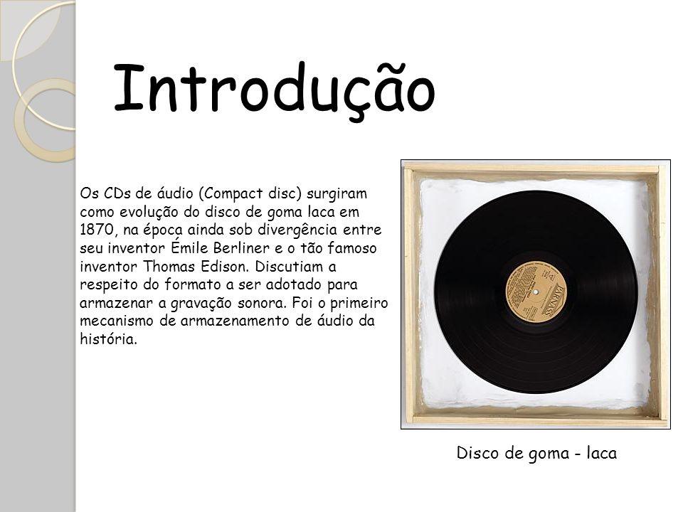 Introdução Disco de goma - laca