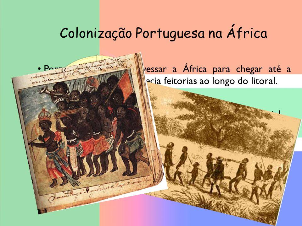 Colonização Portuguesa na África