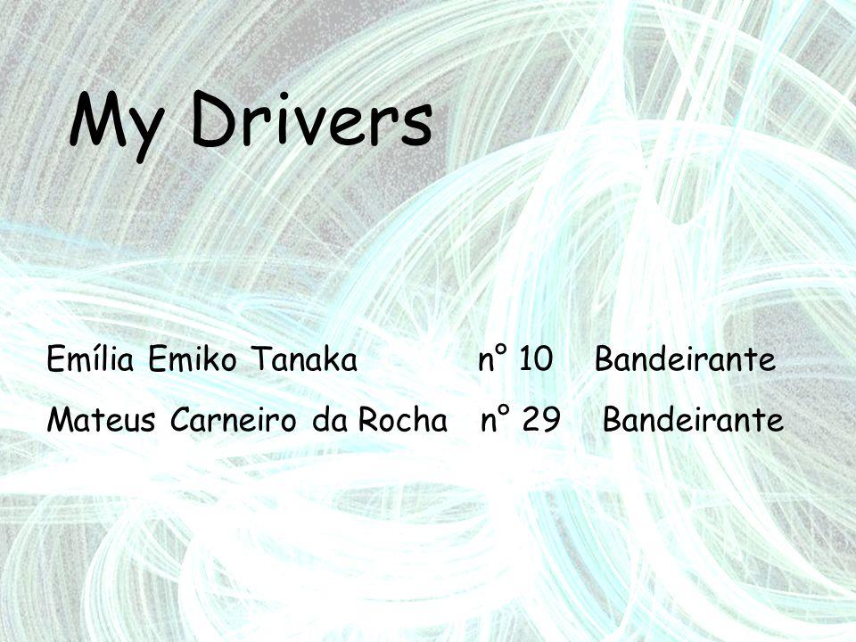 My Drivers Emília Emiko Tanaka n° 10 Bandeirante