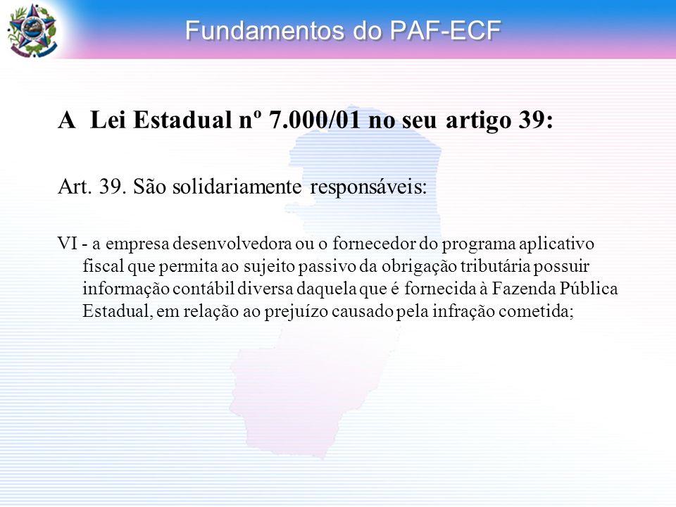 Fundamentos do PAF-ECF