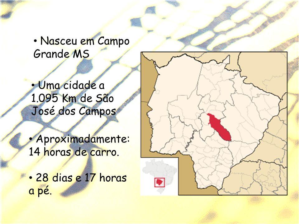 Nasceu em Campo Grande MS