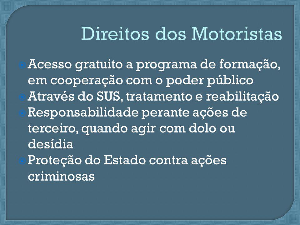 Direitos dos Motoristas
