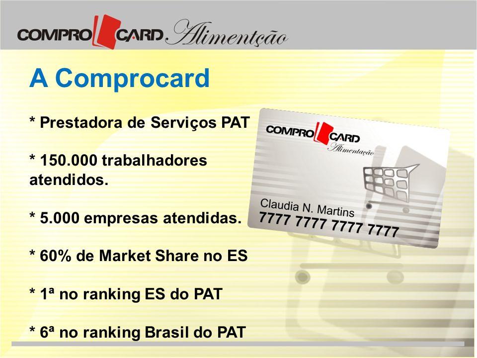 A Comprocard * Prestadora de Serviços PAT