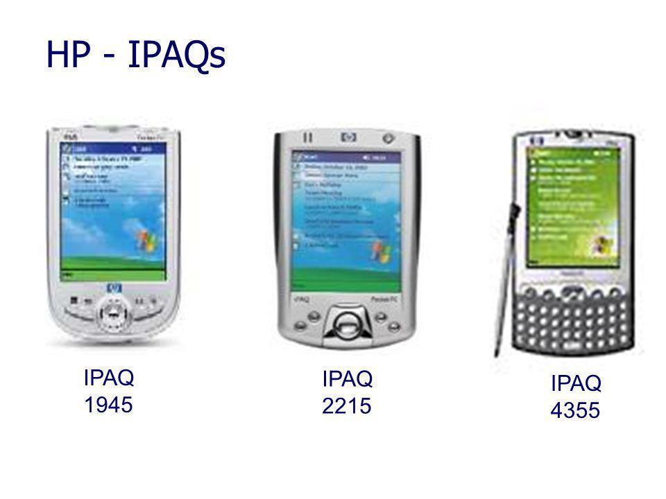 HP - IPAQs IPAQ 1945 IPAQ 2215 IPAQ 4355