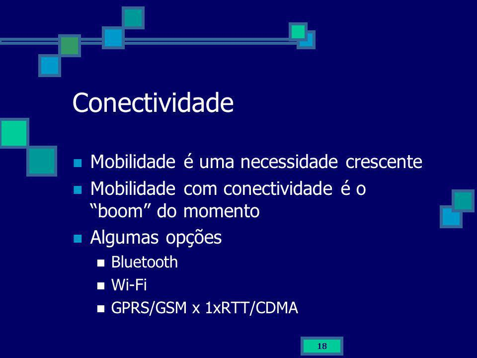 Conectividade Mobilidade é uma necessidade crescente