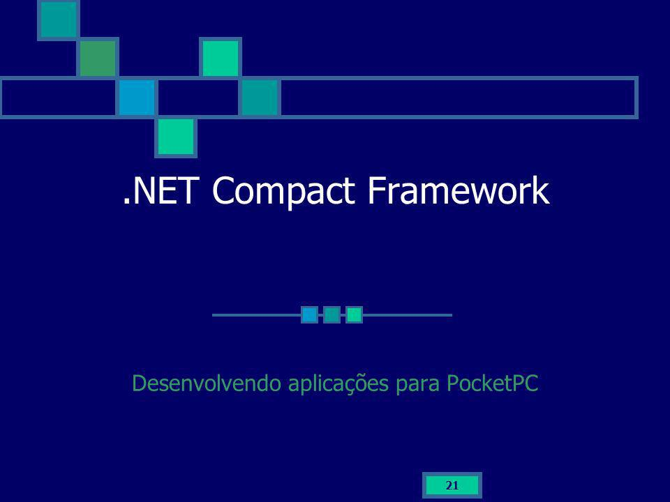 Desenvolvendo aplicações para PocketPC