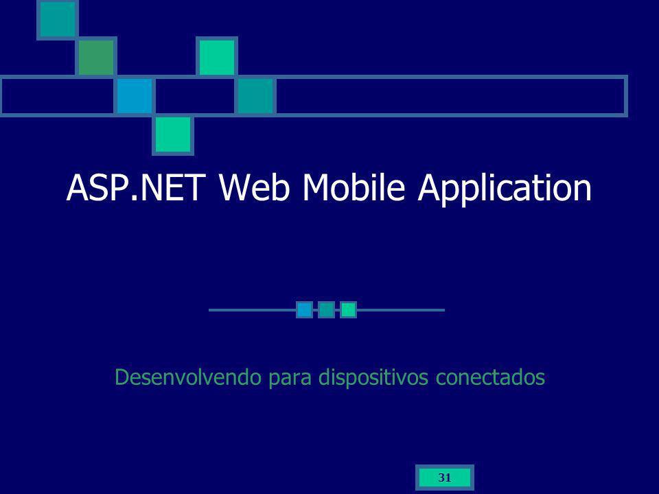 ASP.NET Web Mobile Application