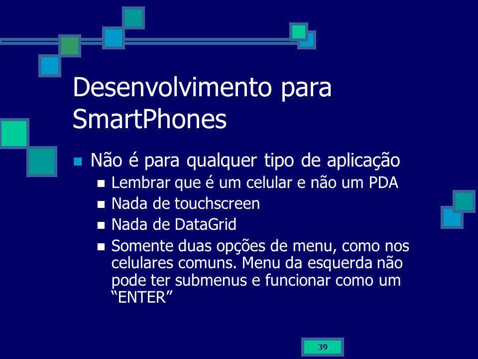 Desenvolvimento para SmartPhones