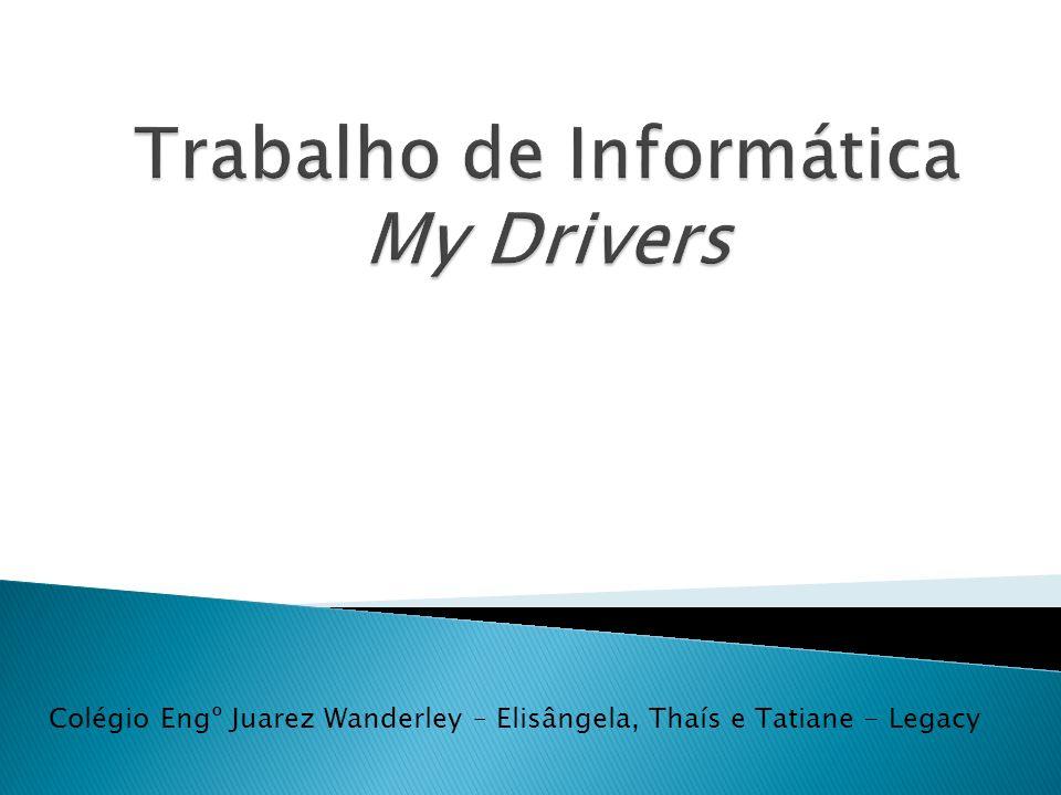 Trabalho de Informática My Drivers