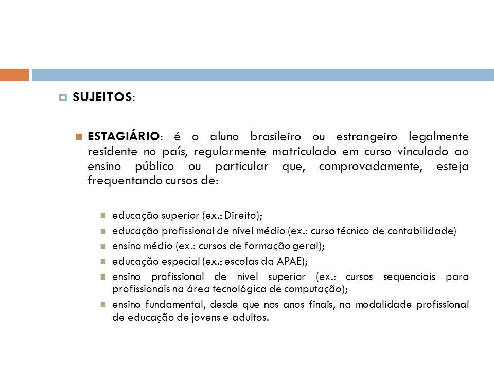 SUJEITOS: