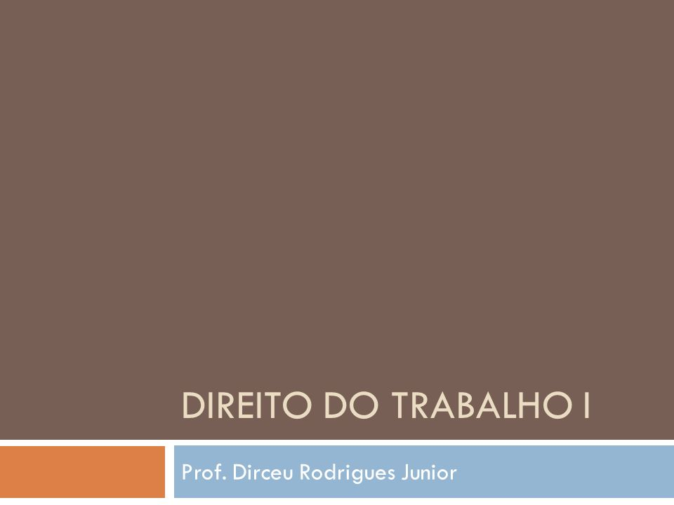 Prof. Dirceu Rodrigues Junior