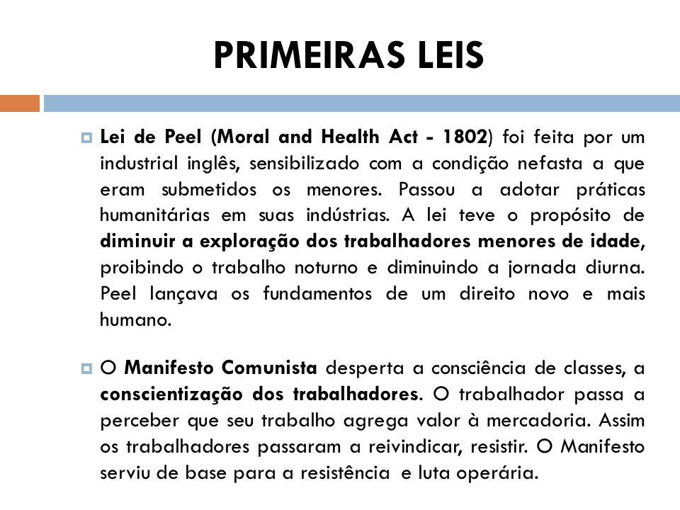 PRIMEIRAS LEIS