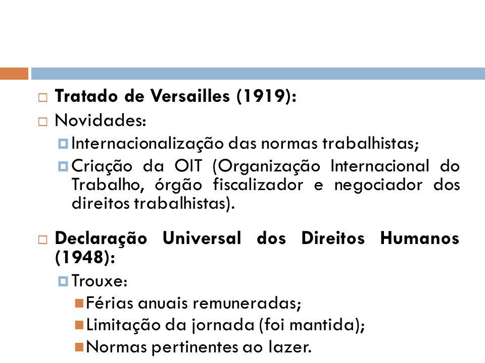 Tratado de Versailles (1919): Novidades: