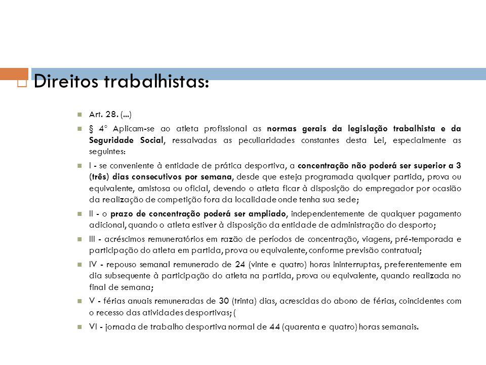 Direitos trabalhistas: