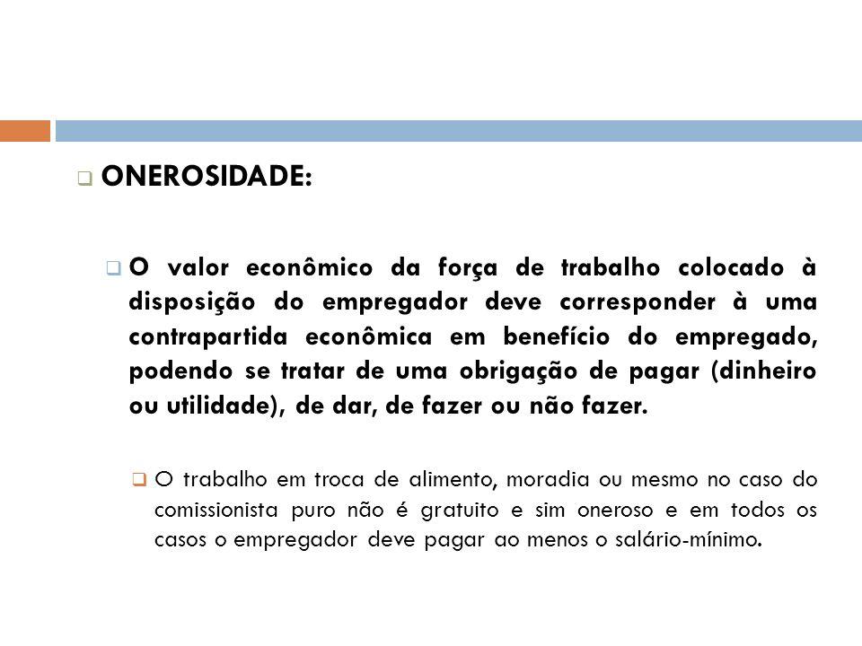 ONEROSIDADE: