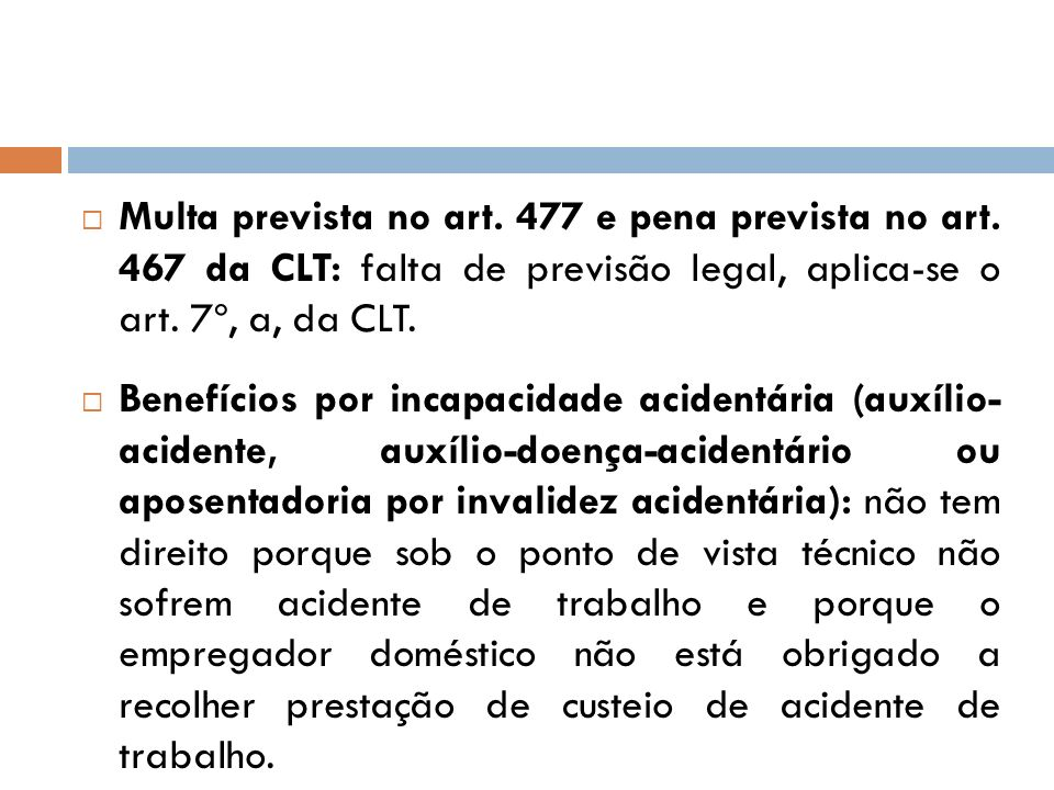 Multa prevista no art. 477 e pena prevista no art