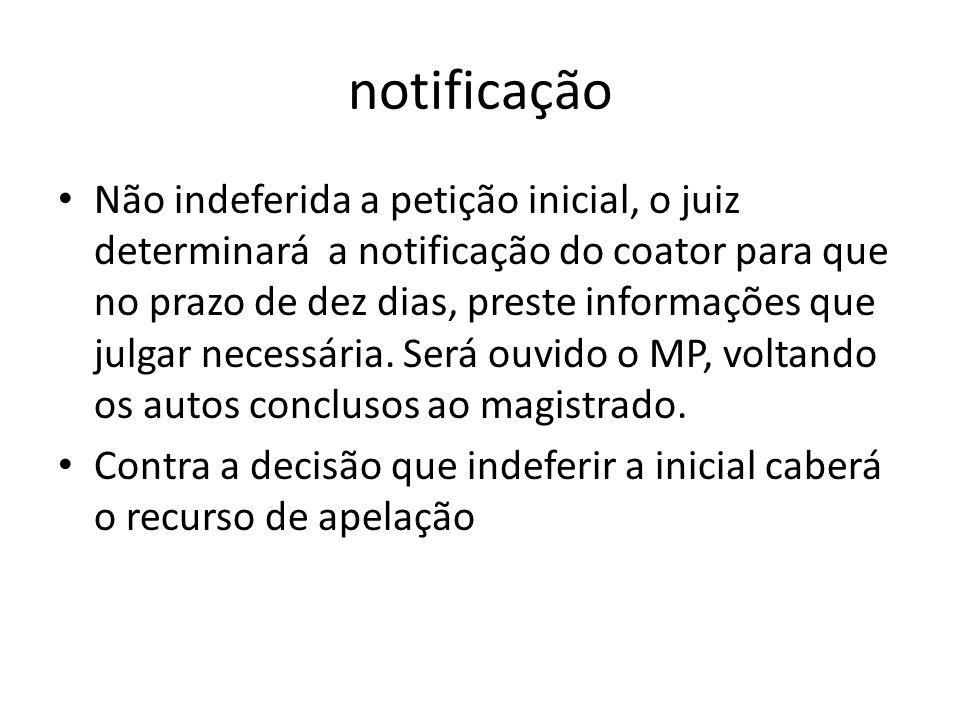 notificação