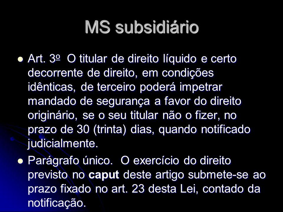 MS subsidiário