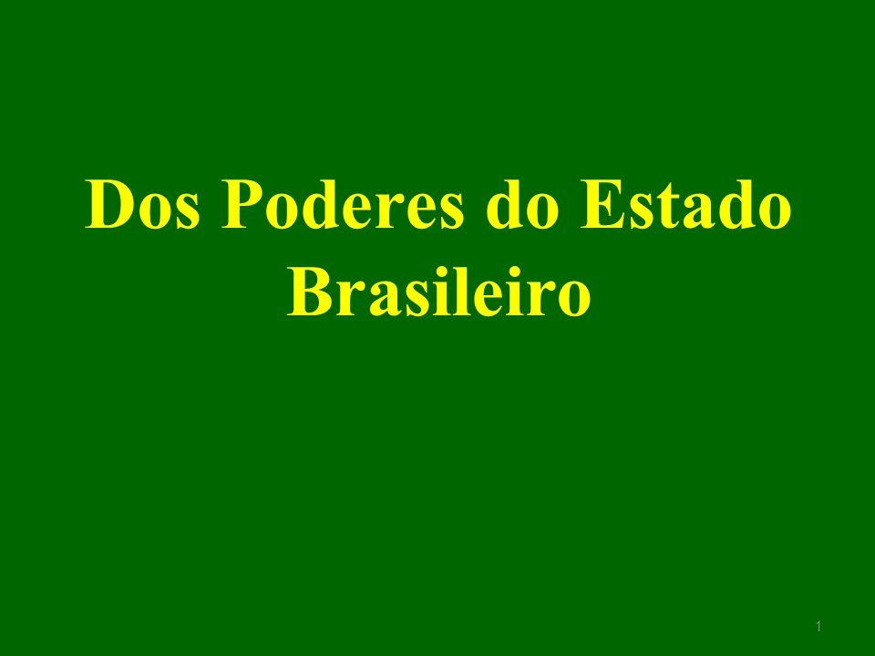 Dos Poderes do Estado Brasileiro