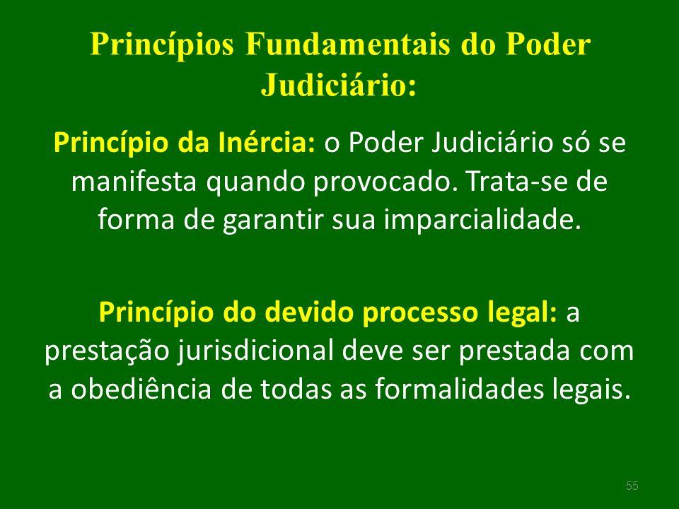 Princípios Fundamentais do Poder Judiciário: