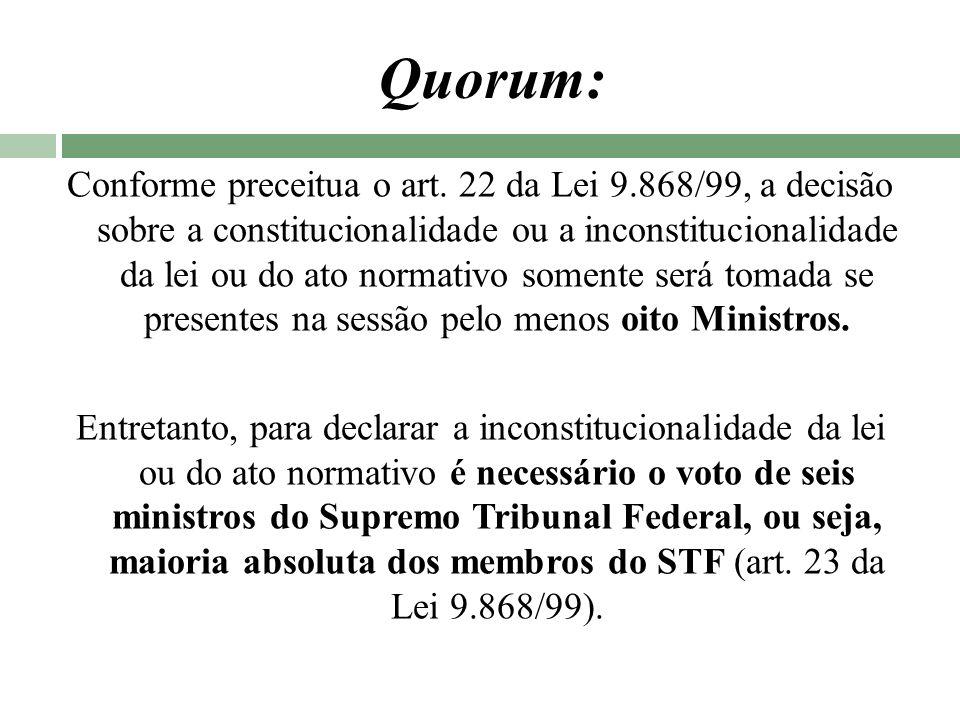 Quorum: