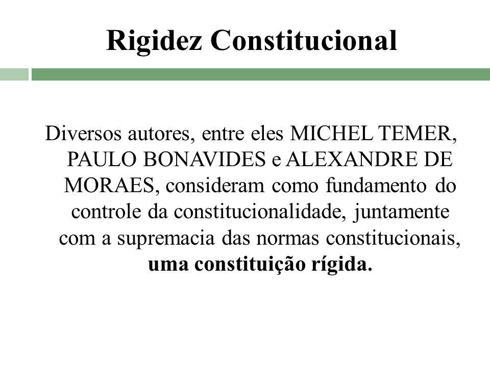Rigidez Constitucional
