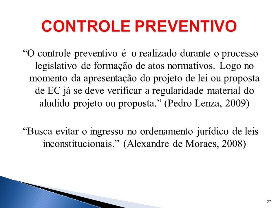 CONTROLE PREVENTIVO